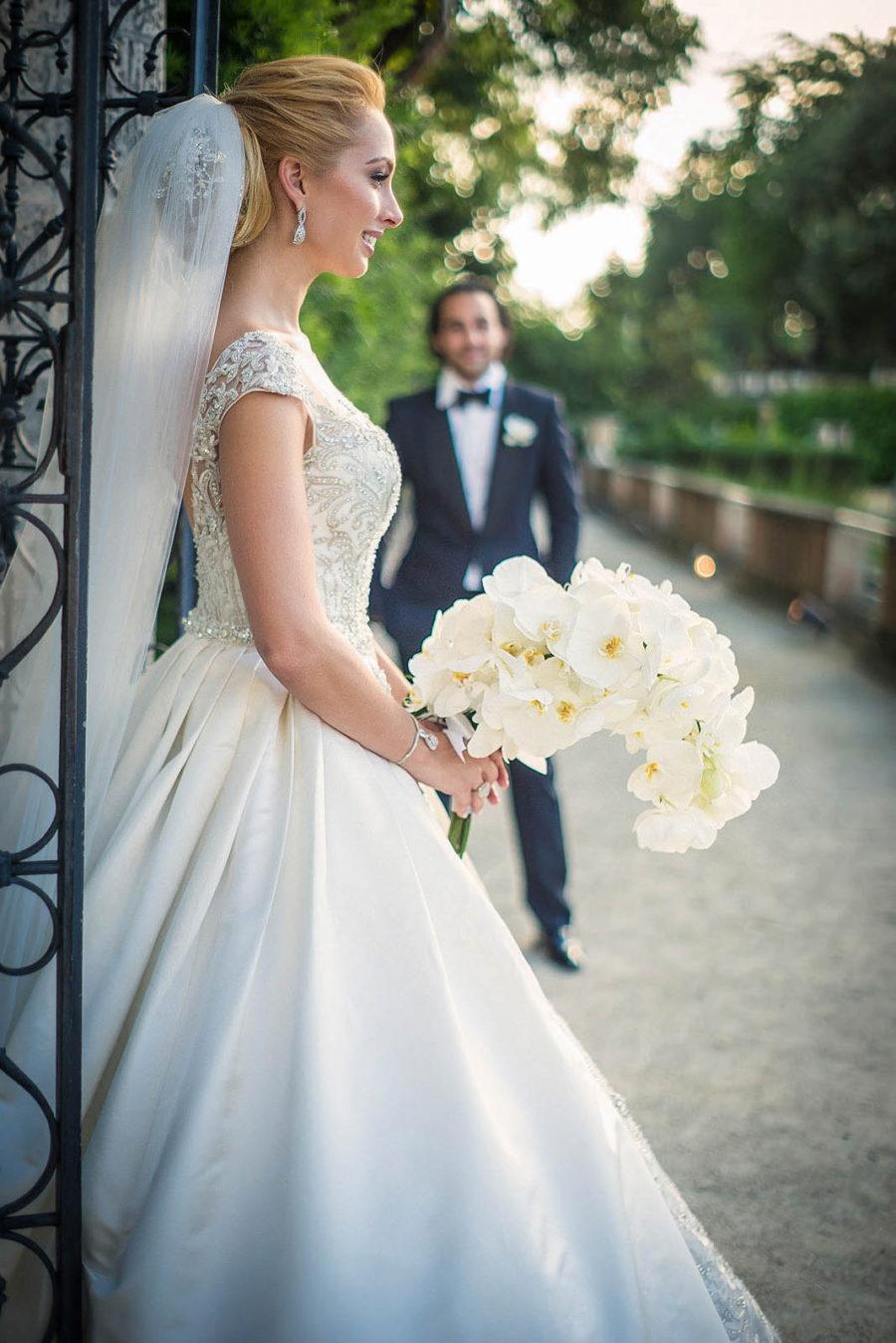 gorgeous miami bride