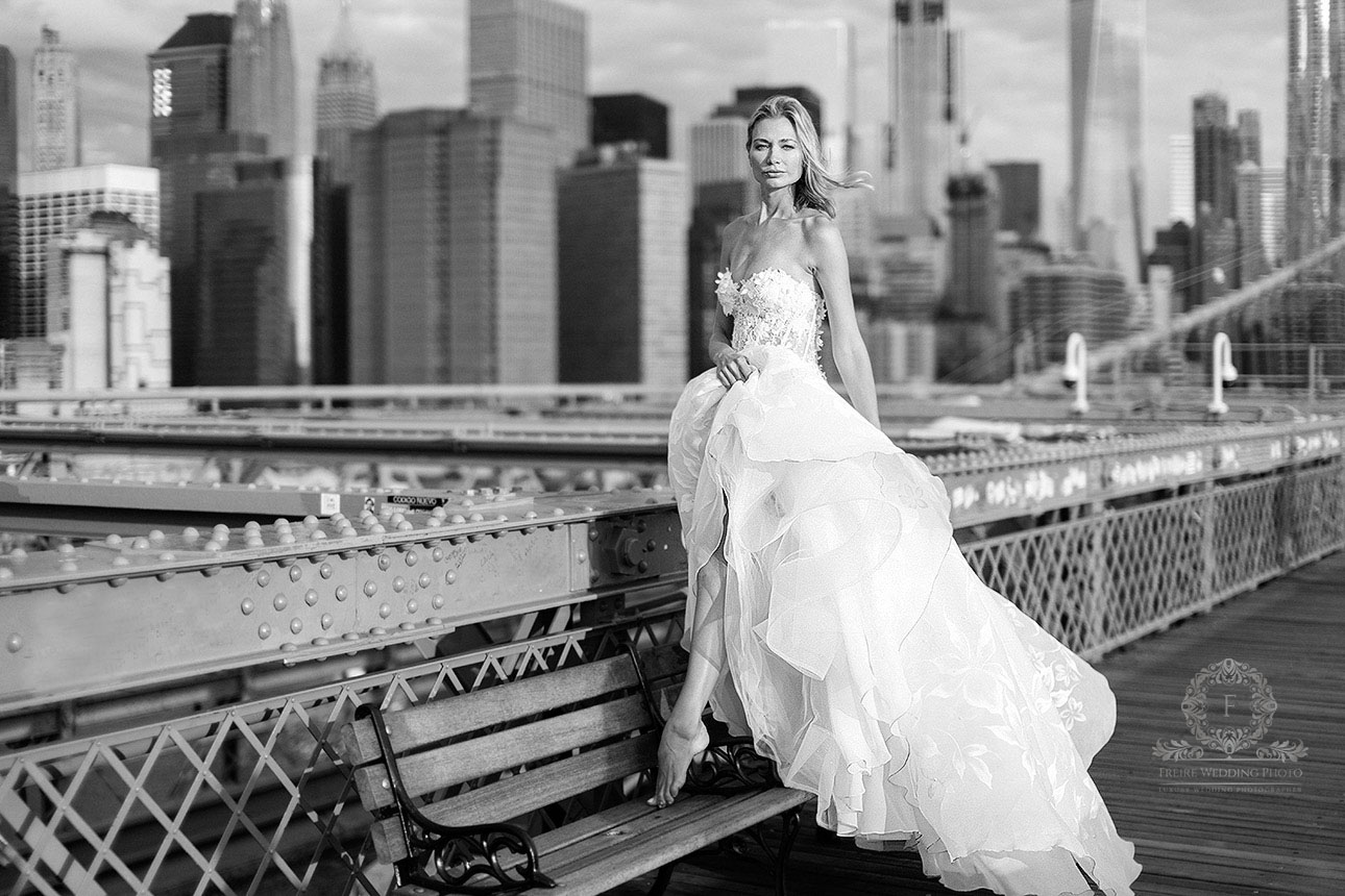 Bridal Shoot In Nyc By Jan Freire Photography