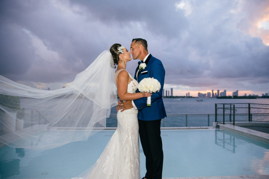 Mondrian South Beach wedding