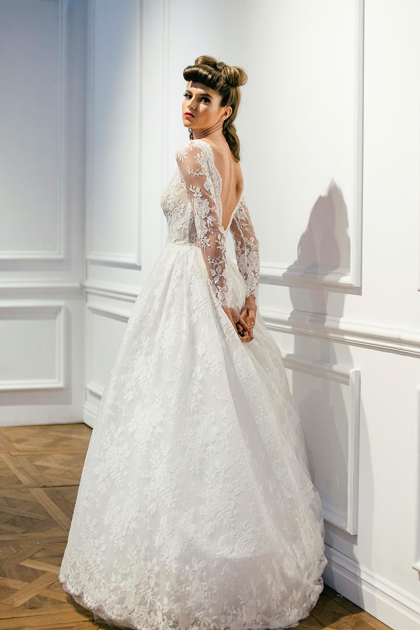 Designer loft bridal photoshoot for The loft wedding dresses
