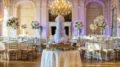 Rosecliff Mansion Wedding setup