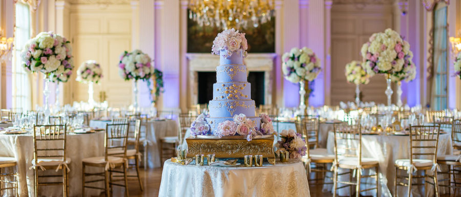 Rosecliff Mansion Wedding setup