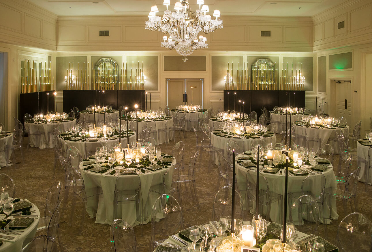 Fisher Island Club Wedding ballroom