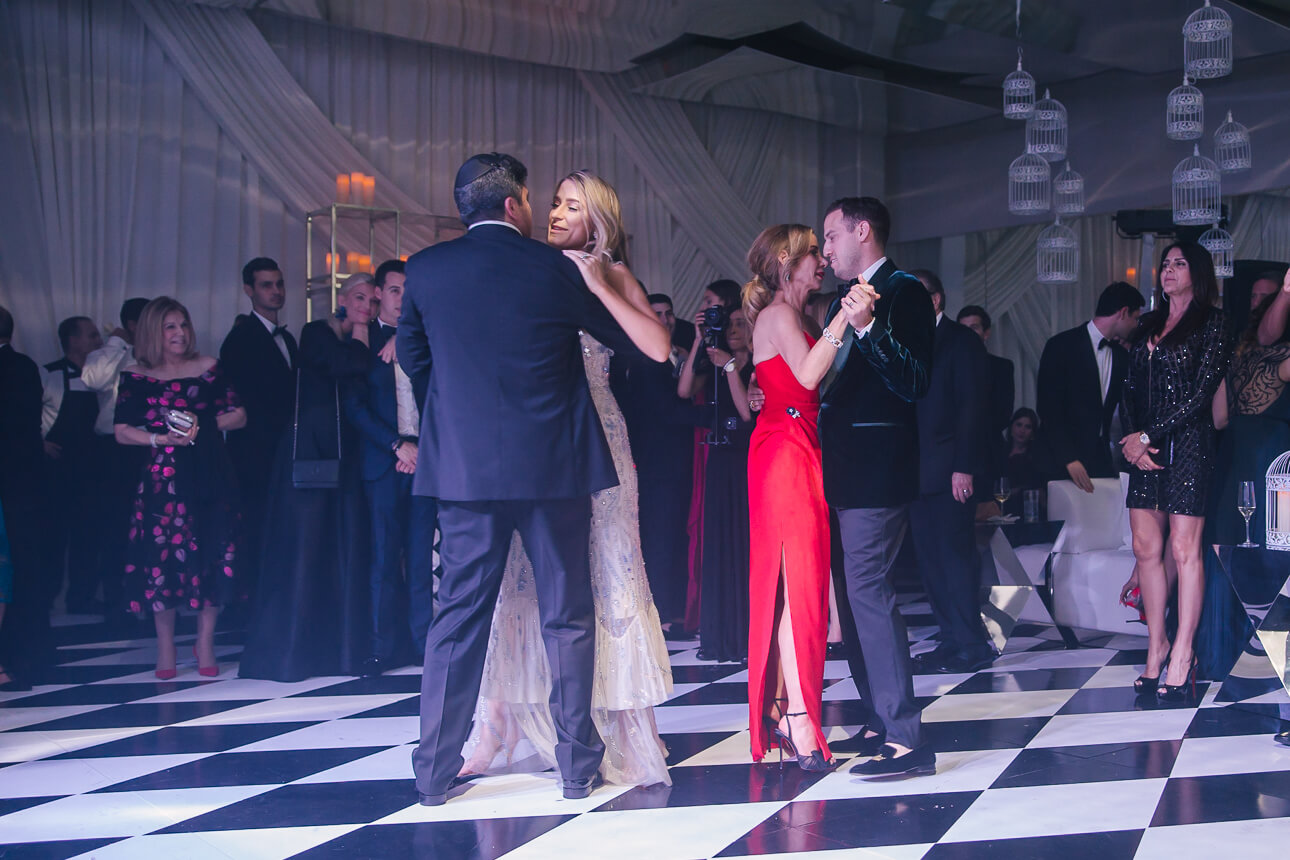 parents dance at Fisher Island Club Wedding