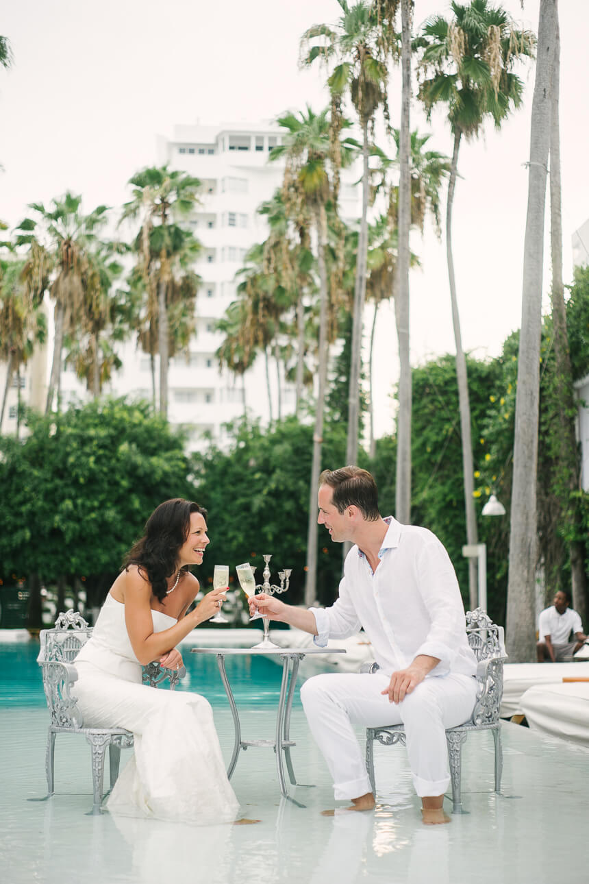 Melanie and Marc | Delano Miami Vow Renewal