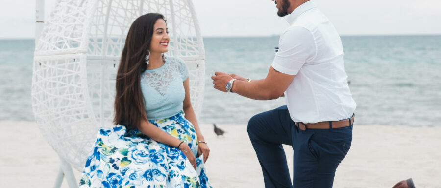 Angel and Sunny's Miami Beach Proposal