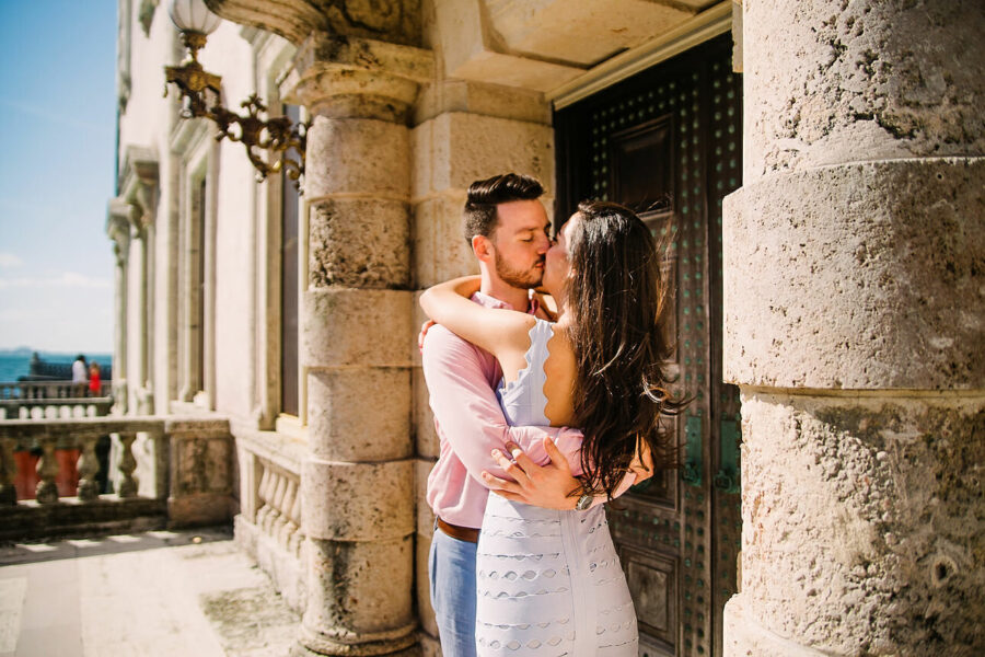 Kimia & Jamisen | Vizcaya Engagement Pictures
