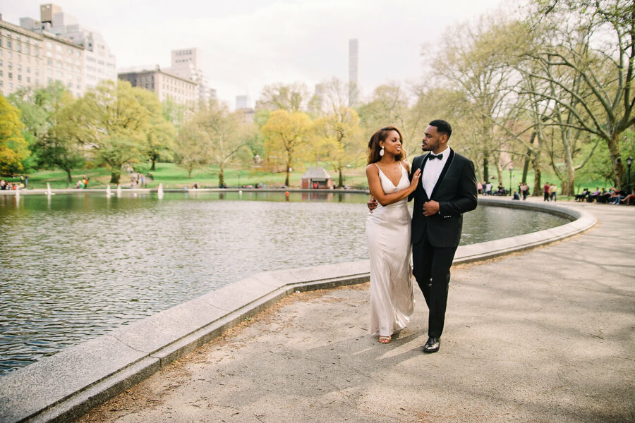 Engagement Photo Shoot in Central Park | Mallory & Didier