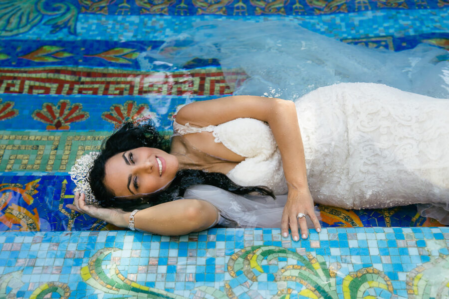 Patricia's Bridal Session at Versace Mansion