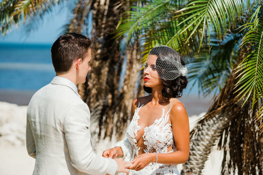 Johanna and Quentin Florida Keys wedding