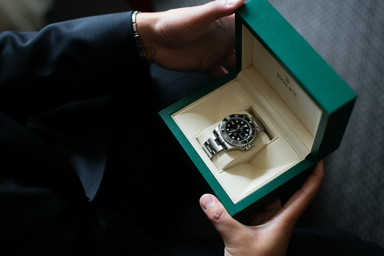 Rolex and a gift from bride