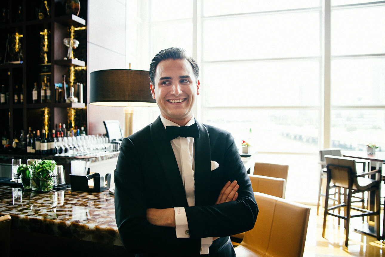 groom at Mandarin Oriental Miami