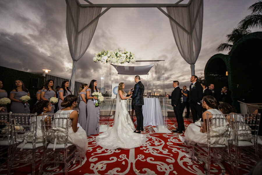 Mondrian South Beach Hotel wedding
